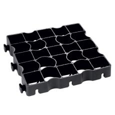 Byggros Ecoblock elastic E50, sort, 20 t, 12 stk. pr. 1,33 m