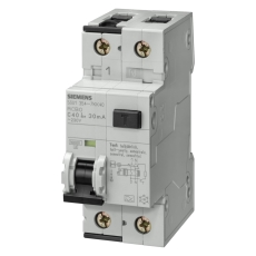 Kombiafbryder Automat/HPFI 30MA C 16A 1P+N 10kA 5SU1354-7KK1