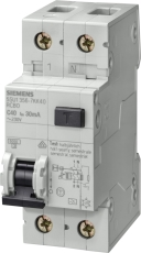 Kombiafbryder Automatsikring/HPFI C 10A 1P+N 30mA 5SU1356-7K