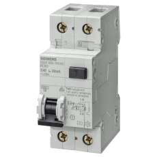 Kombiafbryder Automatsikring/HPFI C 16A 1P+N 30mA 5SU1356-7K