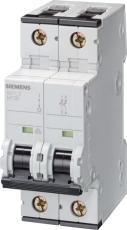 Automatsikring C 2A, 2P, 10kA, 5SY4202-7