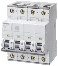 Automatsikring C 10A 3P+N 10kA