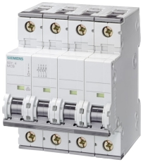 Automatsikring C 16A 3P+N 10kA