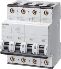 Automatsikring C 50A, 3P+N, 10kA, 5SY4650-7