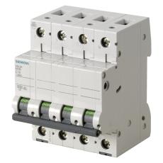 Automatsikring C 10A 3P+N 6kA 5SL6610-7