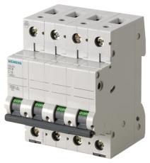 Automatsikring C 13A 3P+N 6kA 5SL6613-7