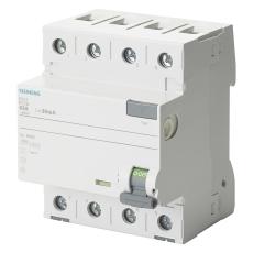 Fejlstrømsafbryder HPFI 63A, 4P, 30mA, Type A, 5SV3346-6