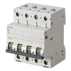 Automatsikring C 10A 3P+N 10kA 5SL4610-7