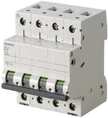 Automatsikring C 40A 3P+N 10kA 5SL6470-7