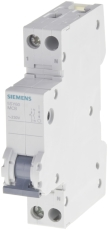 Automatsikring C 10A 1P+N, 1-modul, 6kA, 5SY6010-7