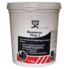 Fosroc lyn-mørtel Renderoc PLUG 1, 1 kg