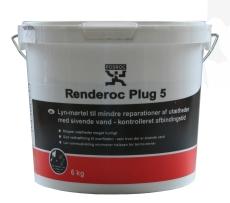 Fosroc lyn-mørtel Renderoc PLUG 5, 6 kg