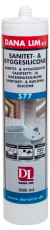 Dana Lim sanitets- og byggesilikone 577, transparent