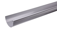 "12"" x 4000 mm Tagrende grå Plastmo"