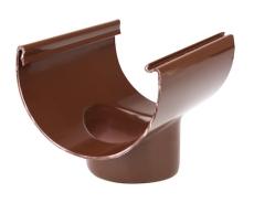 "11"" x 75 mm Tudstykke brun Plastmo"