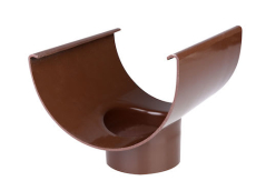 "12"" x 75 mm Tudstykke brun Plastmo"