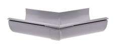 "10"" x 45° Gering udvendig grå Plastmo"