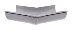 "11"" x 45° Gering udvendig grå Plastmo"