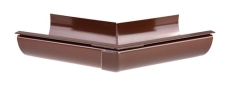 "11"" x 45° Gering udvendig brun Plastmo"