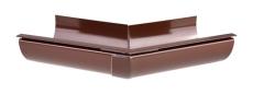 "12"" x 45° Gering udvendig brun Plastmo"
