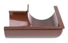"12"" x 90° Gering udvendig brun Plastmo"