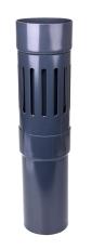 110 mm Altanafløb grafit Plastmo