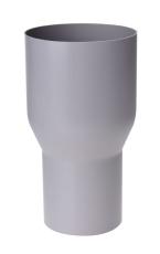 110 x 90 mm Overgang grå Plastmo