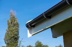110 mm Vandudviser m/klap grafit Plastmo