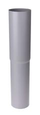 75 mm Nedførsel lige grå Plastmo