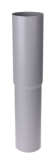 90 mm Nedførsel lige grå Plastmo