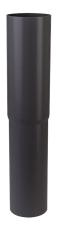 110 mm Nedførsel lige grafit Plastmo