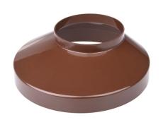 110 x 150 mm Brøndkrave brun Plastmo