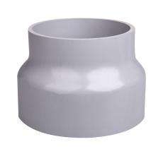 110 x 150 mm Hærværksbrøndkrave grå Plastmo