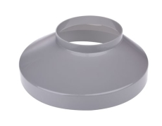 75 x 130 mm Brøndkrave grå Plastmo