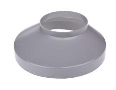 90 x 130 mm Brøndkrave grå Plastmo