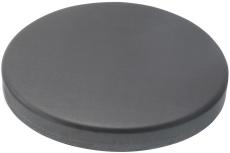 VM ZINC brøndkrave, lukket, ANTHRA-ZINC - 150 mm