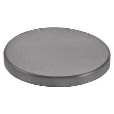 VMZINC brøndkrave uden hul, QUARTZ-ZINC - 150 mm