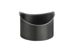 VMZINC tudstykke til halvrund rende, ANTHRA-ZINC 280/80 mm