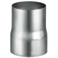VMZINC overgangsmuffe til svejst rør, ZINC NATUR - 76 mm