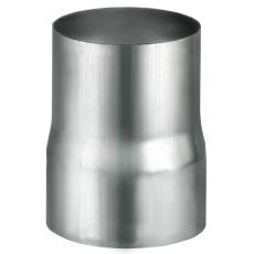 VMZINC overgangsmuffe til svejst rør, ZINC NATUR - 100 mm