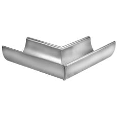 VMZINC indvendig gering til halvrund rende, falset 280 mm