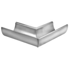 VMZINC indvendig gering til halvrund rende, falset 333 mm