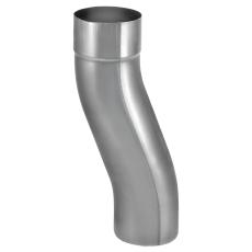 VMZINC dobbeltbøjning, ZINC NATUR - 100 mm