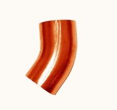 76 mm x 72° Bøjning kobber