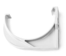 Plastkonsol nr. 12 hvid