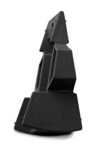 Plastmo plastkile 18°/27° svart