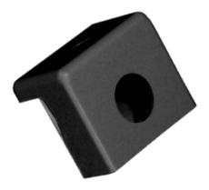 Plastmo forkrog svart