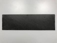 Rustik naturskifer 50x15 cm med huller - skjult fastgørelse