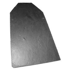 Kongebro naturskifer 60 x 30 cm med lockhul og afskårne skul