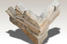 Stonepanel Corner Granit - massivt hjørne panel til SPZ-55N